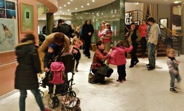 Hlídání dětí během představení jenaše nová služba